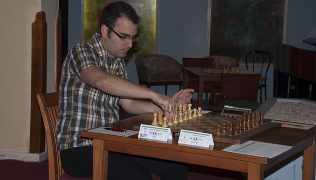Leinier Domínguez ha igualado sus tres primeras partidas (foto de María del Carmen Ramón / Cubahora)