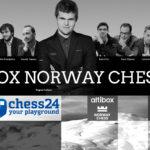 Partidas en directo del Altibox Norway Chess 2016