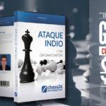 """Curso gratis """"Ataque Indio"""" del GM Antón + 60% en la colección chess24"""