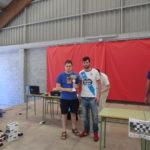Final del I Torneo de Xadrez Concello de Mazaricos: MI Diego Espiñeira campeón