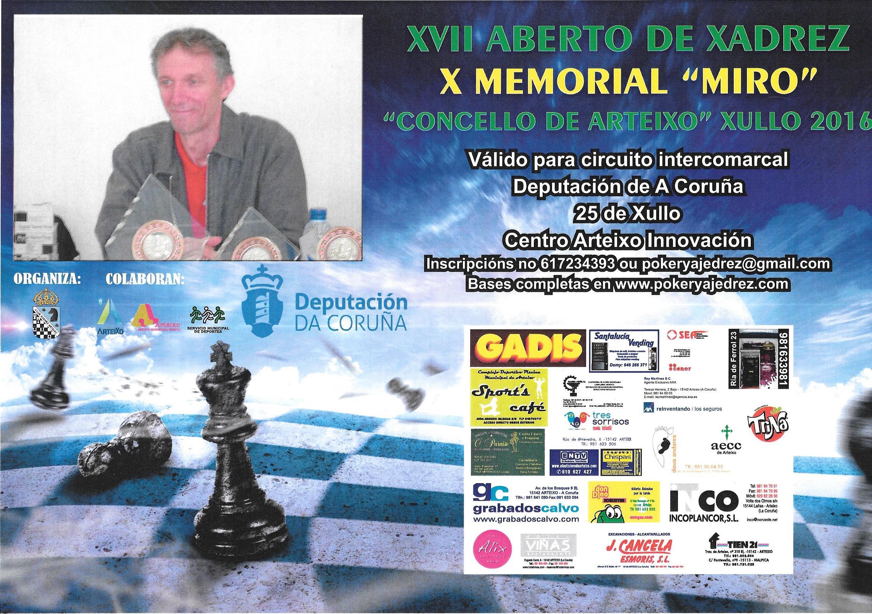 XVII Aberto Concello de Arteixo - X Memorial Miro