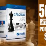 Curso de Cálculo de chess24 del GM de la Villa al 50%