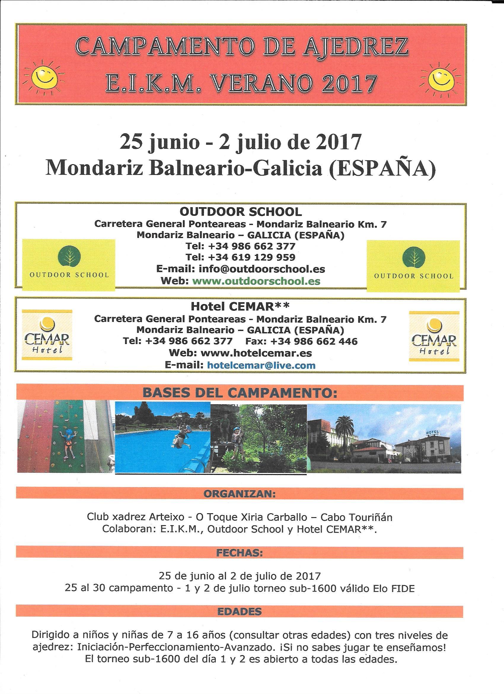 Campamento Verano Mondariz 2017
