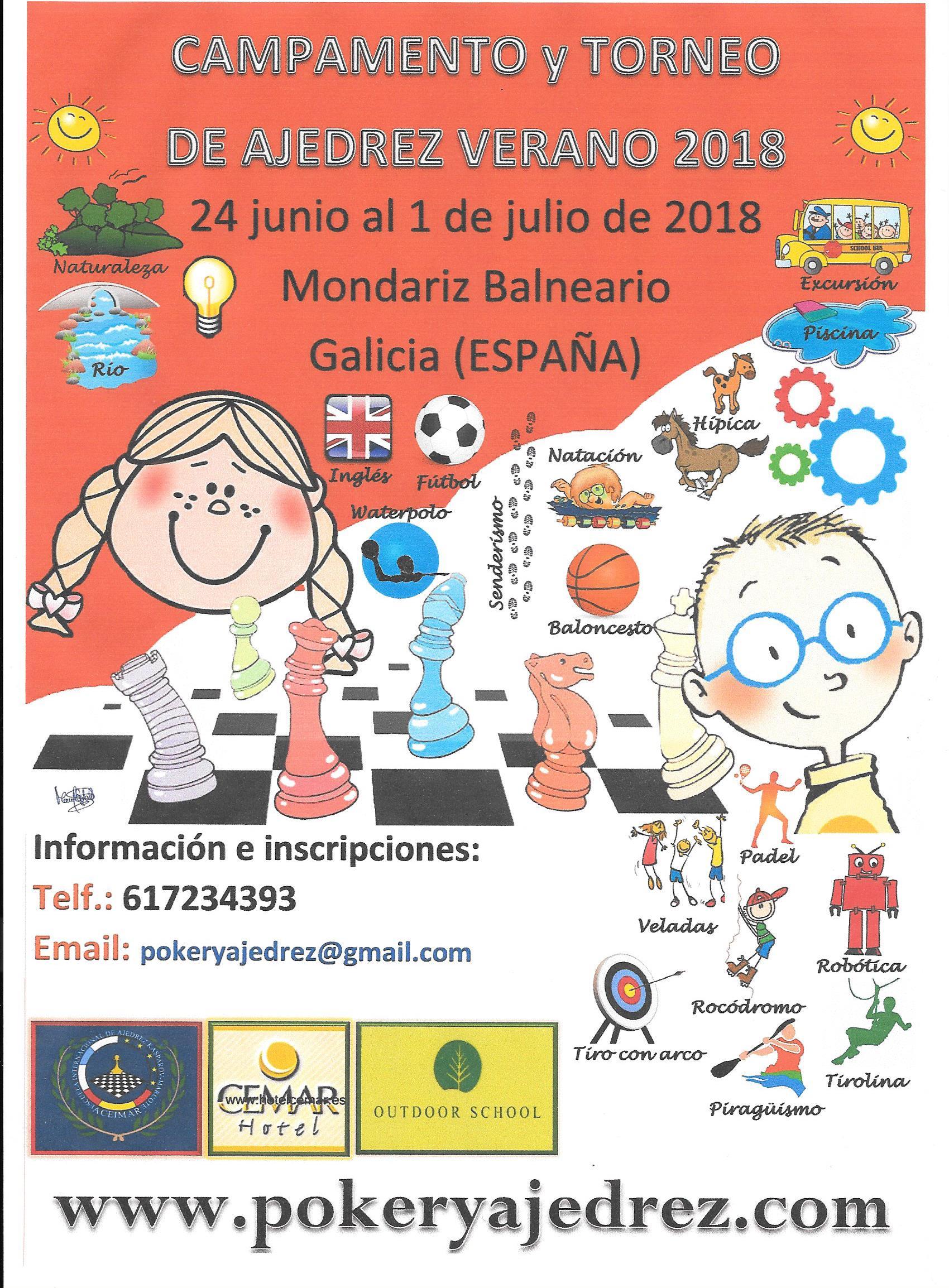 Campamento Verano Mondariz 2018