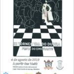 """III Torneo Concello Val do Dubra """"Festa do Emigrante"""" – 6ª proba do III Circuito Intercomarcal de xadrez rápido"""