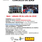 II Torneo de xadrez Concello de Zas - 4ª proba do III Circuito Intercomarcal de xadrez rápido
