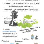 III Aberto de Xadrez Fundación Luis Calvo de Carballo - Clausura do III Circuíto Intercomarcal