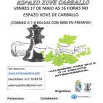 IV Torneo Fundación Calvo - II Día das Letras Galegas Espazo Xove Carballo