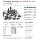 I Torneo sub-2200 Ría de Camariñas